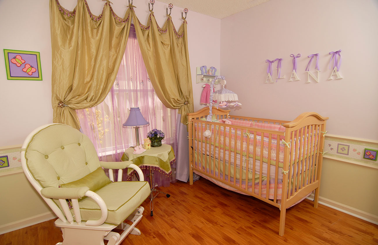 Nursery - Interior Design by Anamaria Atias Design