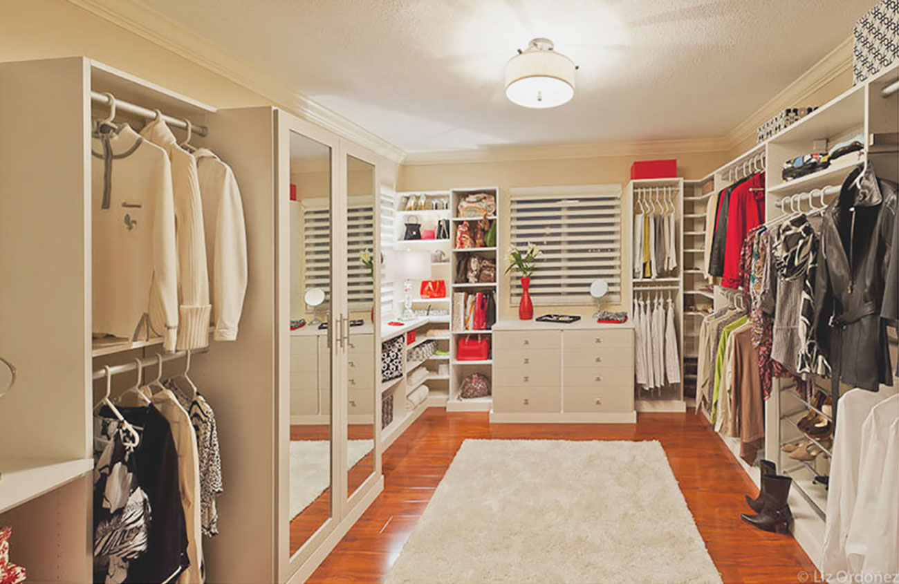 Walk-In Closet - Interior Design by Anamaria Atias Design